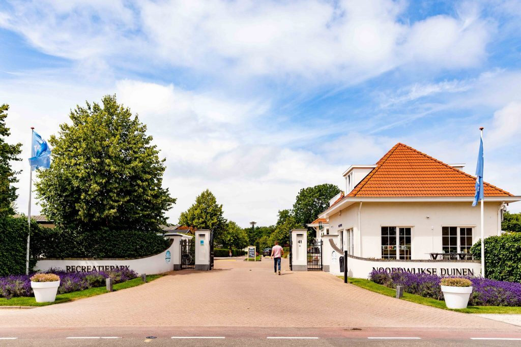 Ferienpark Noordwijkse Duinen Eingang