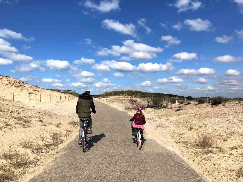 Radtour Noordwijkse Duinen